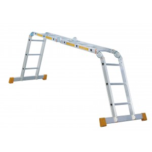 Leiter 4-fach klappbar
